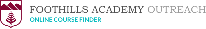 Foothills Academy Society : Online Course Finder