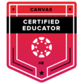 Canvas Certified Educator - HE